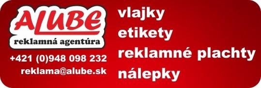Reklamná agentúra Alube -  vlajky, etikety, vizitky, veľkoformátová tlač, letáky a iné. To sme my !!!